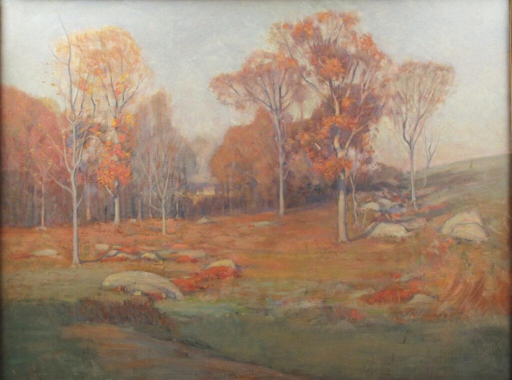 Autumn Landscape 12 x 16 in. oil 1926