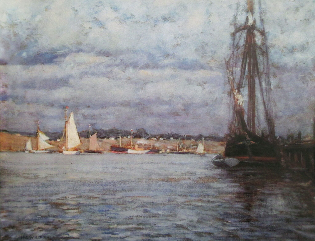 Clearing After Storm New London 18 x 24 in. oil 1903