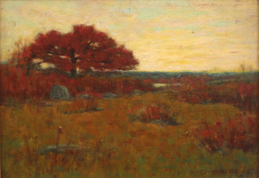 Early Autumn 10 x 14 in. oil 1897