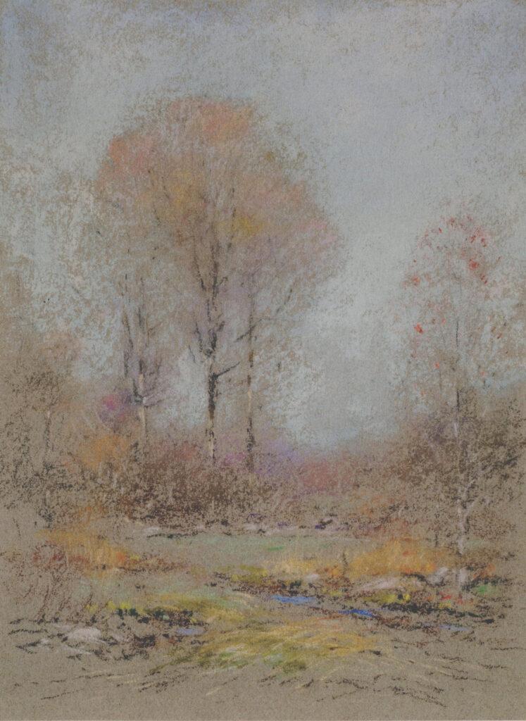 Early November Marsh 12 ⅛ x 16 in. pastel
