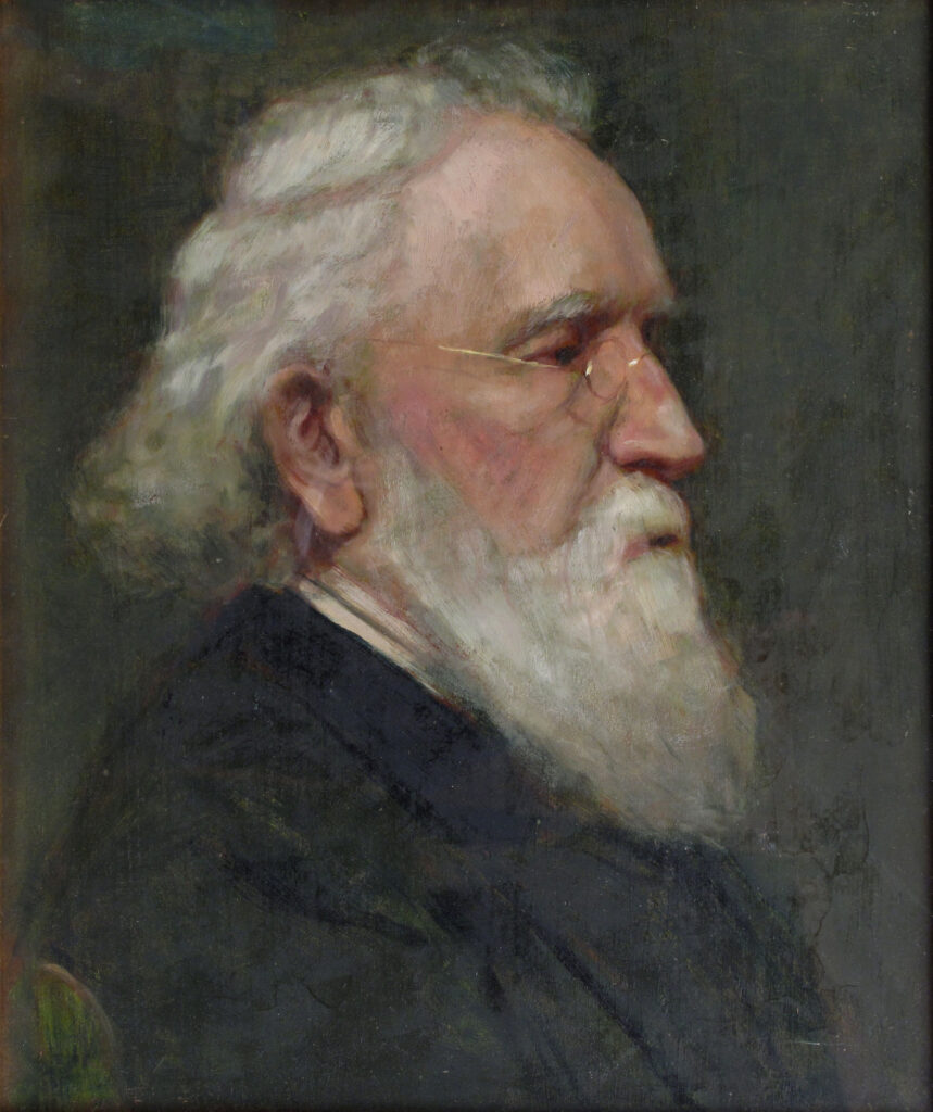 Portrait (The Old Man) 18 x 24 in. oil 1878