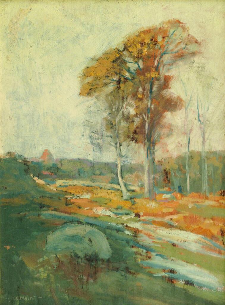Autumn LandscapeAutumn Landscape 12 x 16 in. oil 1926 12 x 16 in. oil 1926
